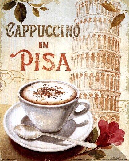 Cafe in Europe IV by Lisa Audit art print