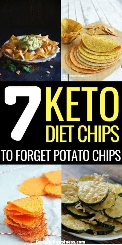 Einfache Keto-Chips-Rezepte – Mit Salsa! – #chips …