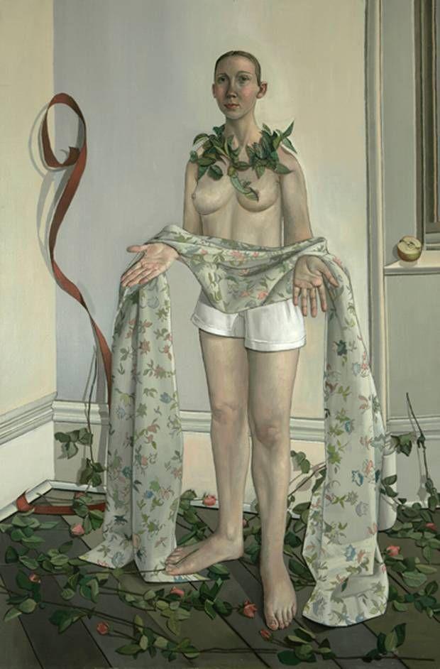 Alison Watt, Disposition of Linen, 1992, Oil on Canvas