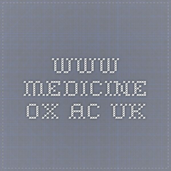 www.medicine.ox.ac.uk