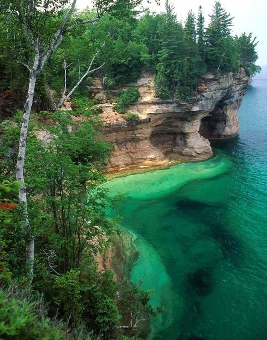 Pin By Steve Whitty On Usa Pictured Rocks National