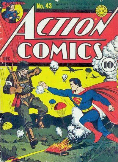 Propaganda in american comics of WWII