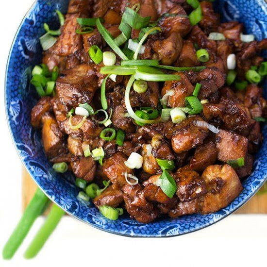Quick and easy Asian honey soy chicken. You won't believe how delicious this is!