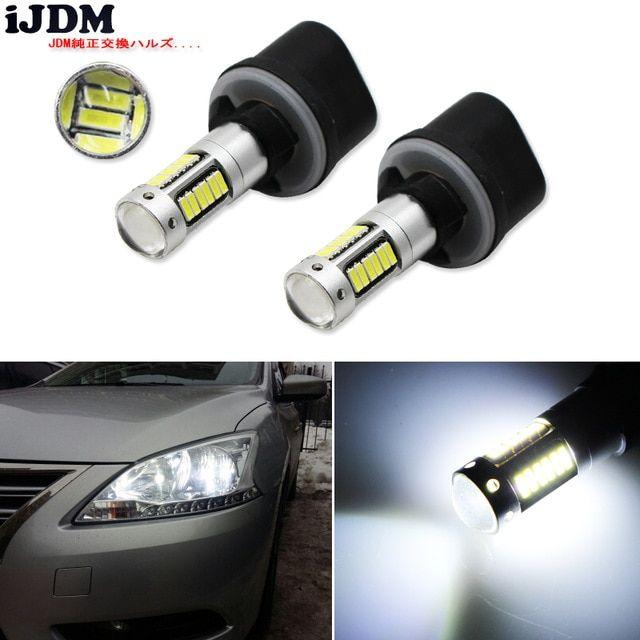 Ijdm Car H27 881 Led Bulb For Cars H27w 2 H27w2 Auto Fog Light Drl