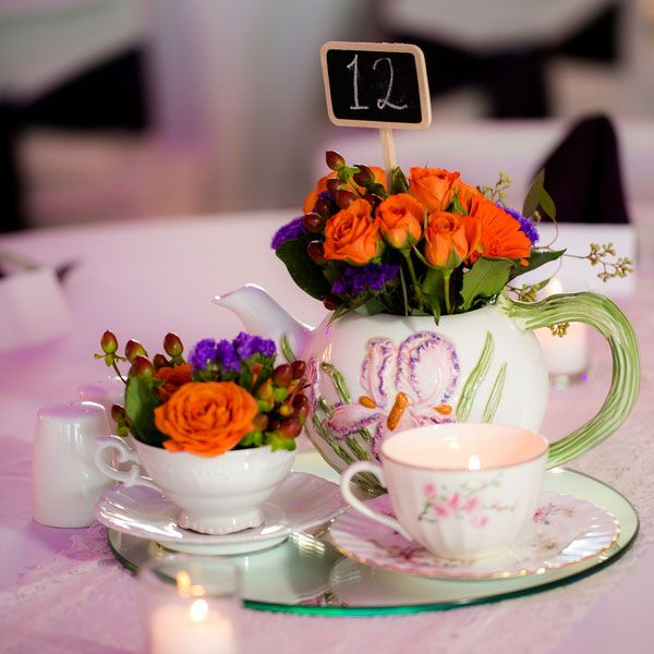 Floral Table Centerpiece Ideas: 1033 Best Images About Table Decor On Pinterest