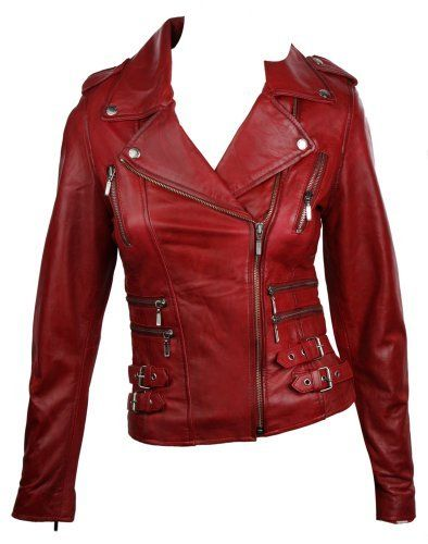 100% Ladies Real Leather Jacket Short Fitted Bikers Style Retro Red Rock Aviatrix, http://www.amazon.co.uk/dp/B00B0X0UEC/ref=cm_sw_r_pi_dp_lYWstb0VKS2NK