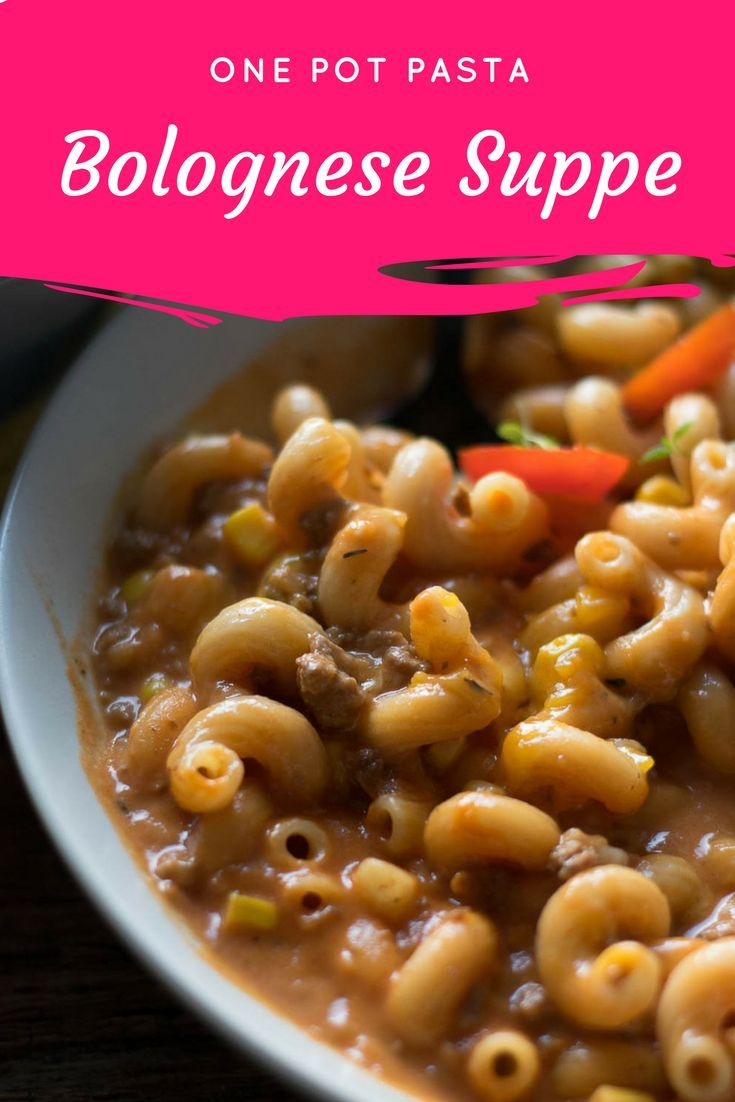 Bolognese Suppe
