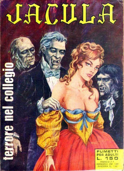 [Fumetti Erotici] Jacula (1969) Jacula è la vampira sicuramente più intrigante del fumetto erotico italiano, anche se i numeri che ho letto sono (purtroppo) totalmente privi di qualsiasi pruriginosità #Jacula #RenzoBarbieri #FumettiErotici