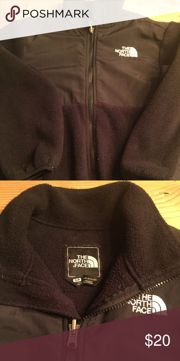 North face fleece Black north face fleece. Size small, girls.  (Although, my son wore it and never knew, it was a girls) North Face Jackets & Coats
