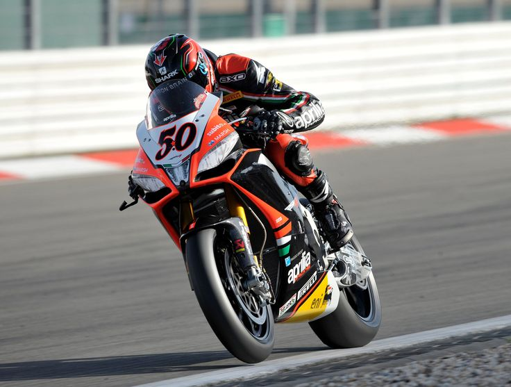 Race Second place in race 2 for Eugene #Laverty who was making a play for the lead when the race was stopped. With a fourth and fifth place finish Sylvain #Guintoli limits the damage and stays close to the lead in the rider standings. #Aprilia continues to dominate the #manufacturer championship