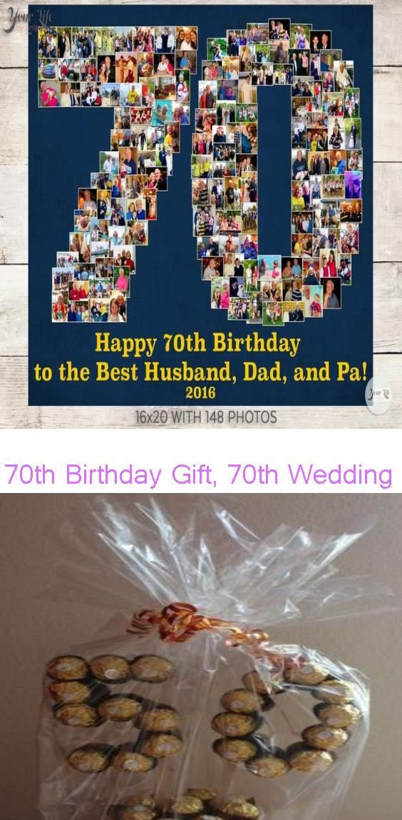 70th Birthday Gift, 70th Wedding Anniversary Gift, 70th