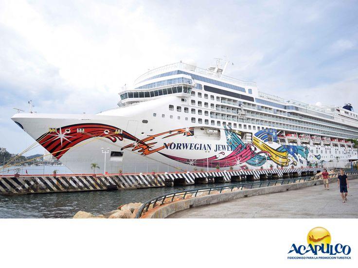 #infoacapulco Magníficos cruceros en Acapulco. INFORMACIÓN SOBRE ACAPULCO. Al puerto de Acapulco, llegan lujosos e imponentes cruceros que viajan a lo largo del mundo. Las compañías más reconocidas son la sueca Silversea y la noruega Norwegian, las cuales cuentan con diferentes paquetes para todo tipo de turistas. Te invitamos a conocer más sobre el hermoso Acapulco, durante tu siguiente visita.www.fidetur.guerrero.gob.mx
