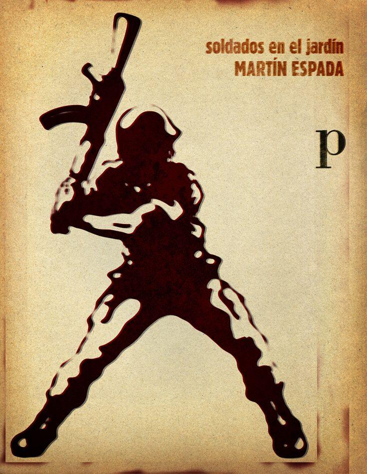 Soldados en el jardín de Martín Espada