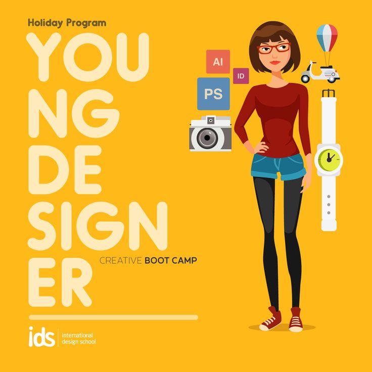 #HolidayProgram Young Designer (23-29 Juni 2015) Yuk bikin desain bersama IDS di liburan ini. Info: http://bit.ly/LiburanKreatif_IDS  Daftar: 021-7980180 / 085697715636  #liburankreatif #holidayprogram #creativebootcamp #ids #designer   www.idseducation.com