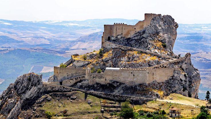 Castello di Chiaramonte, Mussomeli, Sicily