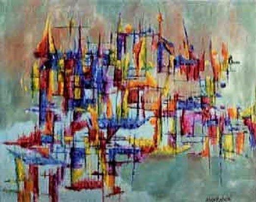 Petit Galerie d'Art: Alice Rahon. Los cuatro hijos del arcoiris