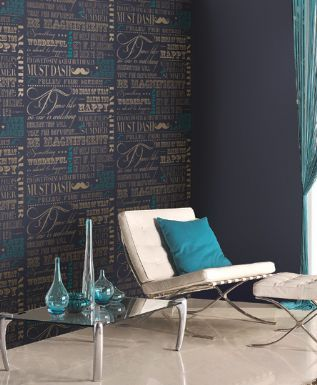 Holden Be Magnificant wallpaper - Midnight Blue