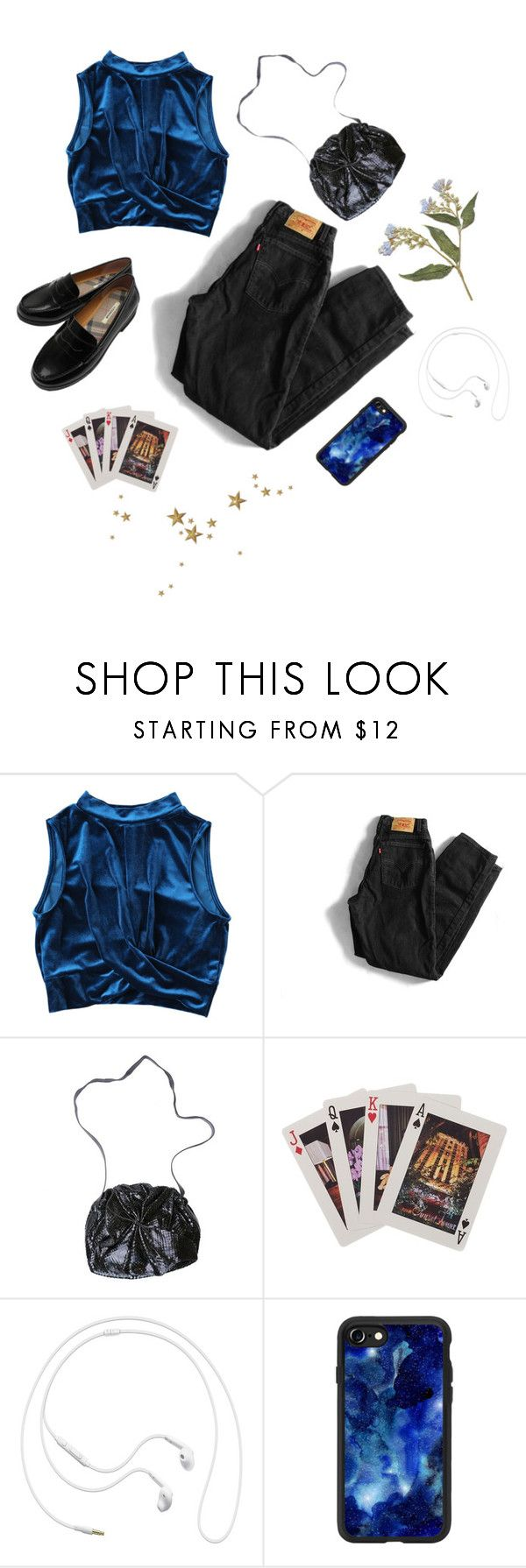 """""""You Can Ask, But You Won't Like the Answer"""" by owlenstar on Polyvore featuring Levi's, Carlos Falchi, Kate Spade, 10¹² Terra, Samsung and Casetify"""