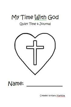 Quiet Time Journal For Kids  (9 weeks of memory verses and devotions)