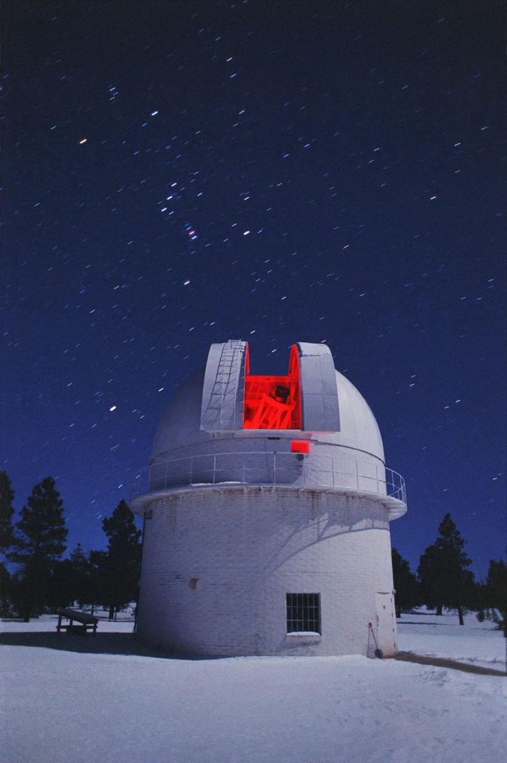 Lowell Observatory, Flagstaff Arizona... my ancestor, Percival Lowell...discovered Pluto here. Come visit at night and look thru this amazing telescope. Still used by NASA.