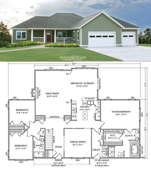 515 best images about dream home for Lucky 4 ranch floor plan