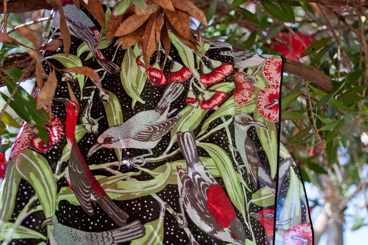 Utopia Goods Flowering Gum Cotton Silk Scarf