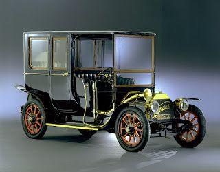 Coches Clásicos Americanos. Autos Antiguos.: Lancia Alpha (1908, Italia)
