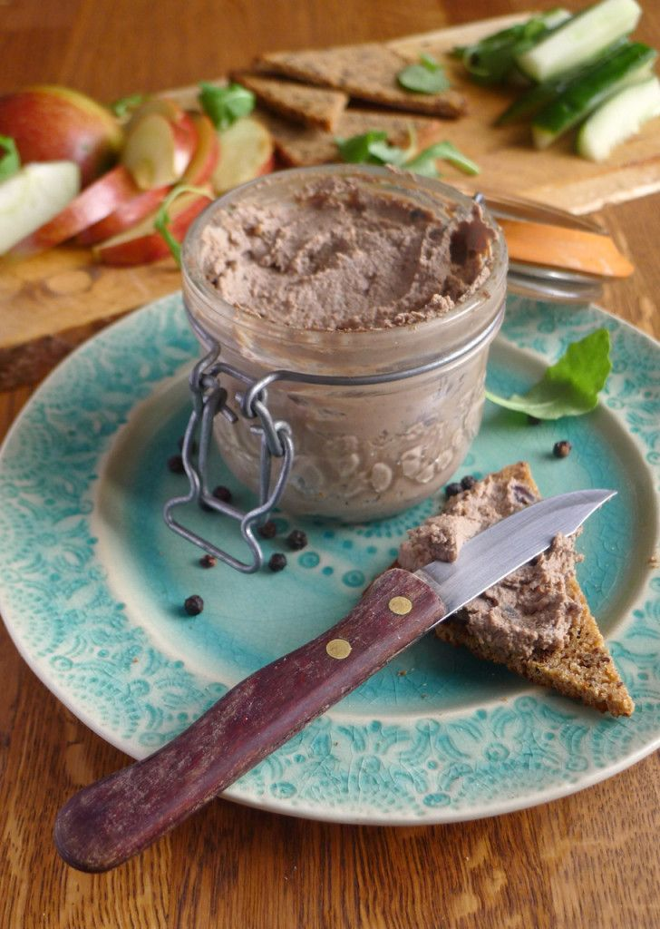 A duck liver pate which pairs superbly with Christmas cranberry sauce