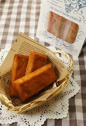 フランス菓子 フィナンシェ   お菓子・パンのレシピや作り方【corecle*コレクル】