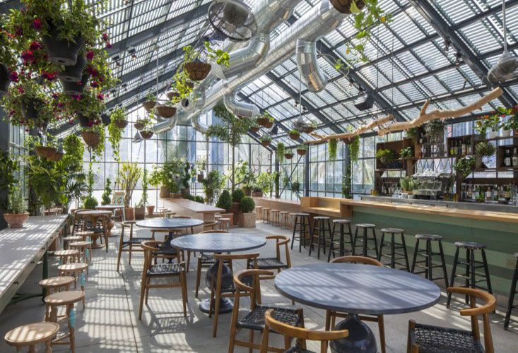 ロサンゼルスで話題のデザイナーズホテル、The Line Hotel ( ザ ライン ホテル ) 内のカフェ・レストラン、 『 Commissary ( カミサリー ) 』 は、オーガニックな雰囲気と、カリフォルニア産の …