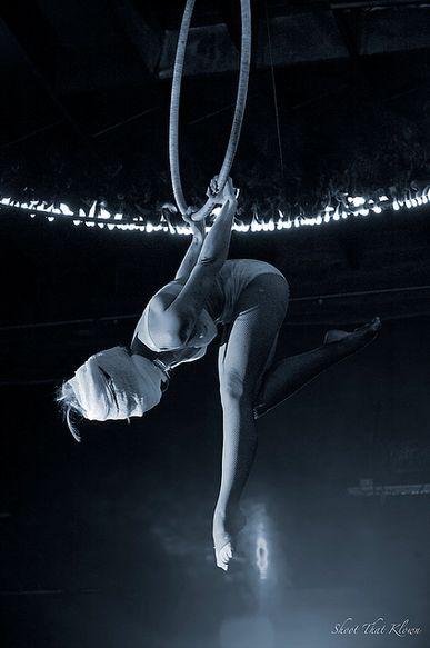 Aerial hoop #Lyra