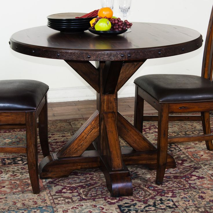Exciting Round Pedestal Table With Armless Chairs Ideas