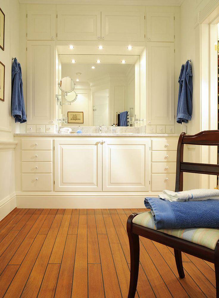 Lantliga badrum ger både lugn och harmoni samtidigt som det lockar fram romantikern i en. Här har vi samlat fem lantliga badrum.