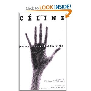 "Journey to the End of the Night by Céline: ""This is another also that I was starting and couldn't get into for years and years, and it was my father's best author. I was really willing to read it, and it was Céline. I read it for the first time maybe five years ago, and it's maybe the most powerful book I've ever read. It's called Voyage au bout de la nuit. I started that maybe 20 years ago but would never go past page 50. Suddenly, five years ago, I was really into it and Mort à crédit…"