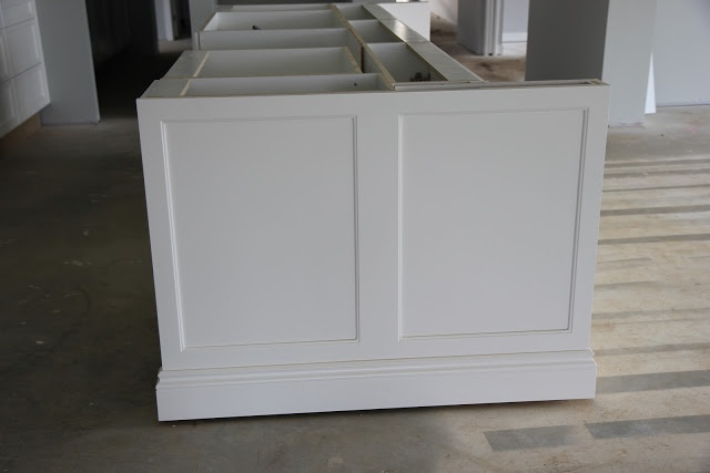 Building Our House of Grey and White: Finally Kitchen Arrives