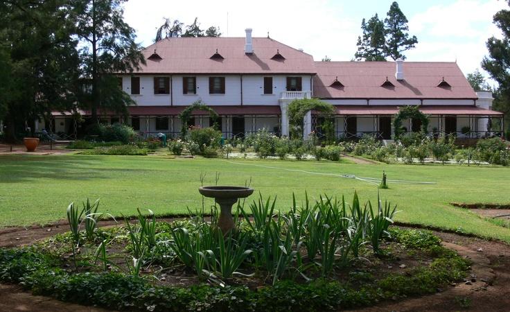 Sammy Marks Museum. Outside Pretoria, South Africa.