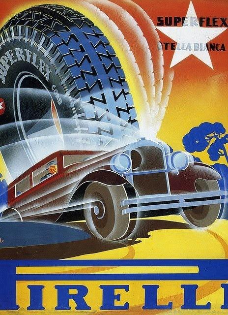 Ame Design - amenidades do Design . blog: Propaganda vintage da Pirelli
