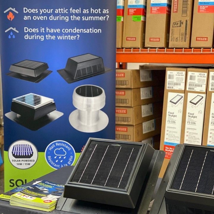 Pin On Solar Roof Ventilation Attic Airflow Solutions