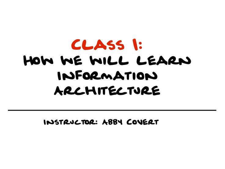 Best  Information Architecture Ideas On