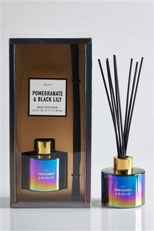 Buy Pomegranate And Black Lily 100ml Diffuser from the Next UK online shop
