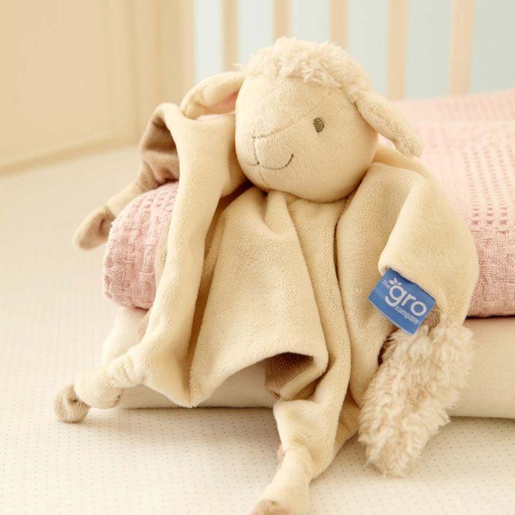 Αρχική Σελίδα :: ΠΑΙΧΝΙΔΙ :: Βρεφικά Παιχνίδια :: Πανάκια - Κούκλες Παρηγοριάς :: Gro Company - Πανάκι Παρηγοριάς Lottie Lamb Gro Comforter