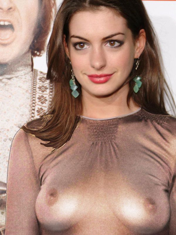 Anne hathaway nude fake sperm — pic 7