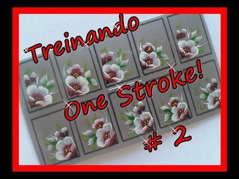 TREINANDO ONE STROKE #2 - YouTube