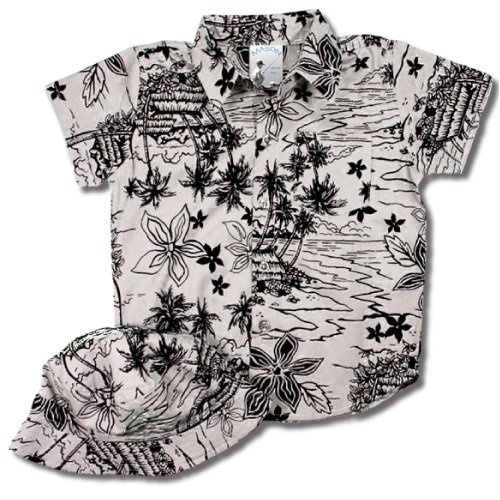 We plan on going some place tropical in the next year and I totally want to dress our boy up in a dorky tourist outfit like this! Haha