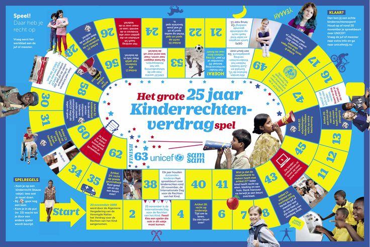 Spel Kinderrechten, Unicef