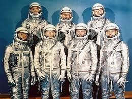 The original 7 astronauts Mercury Program