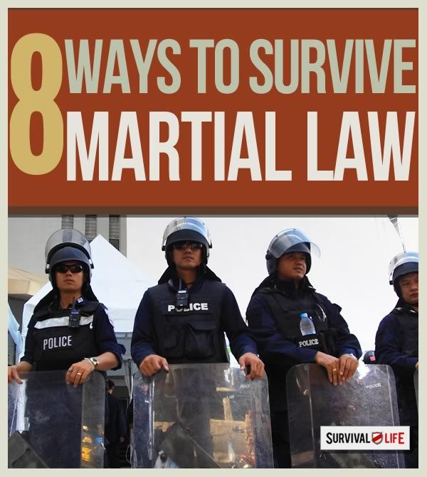 Martial Law: What You Need to Know to Survive - Survival Life | Preppers | Survival Gear | Blog