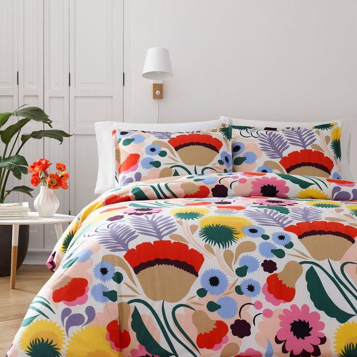 Marimekko Ojakelkukka Twin Comforter Set