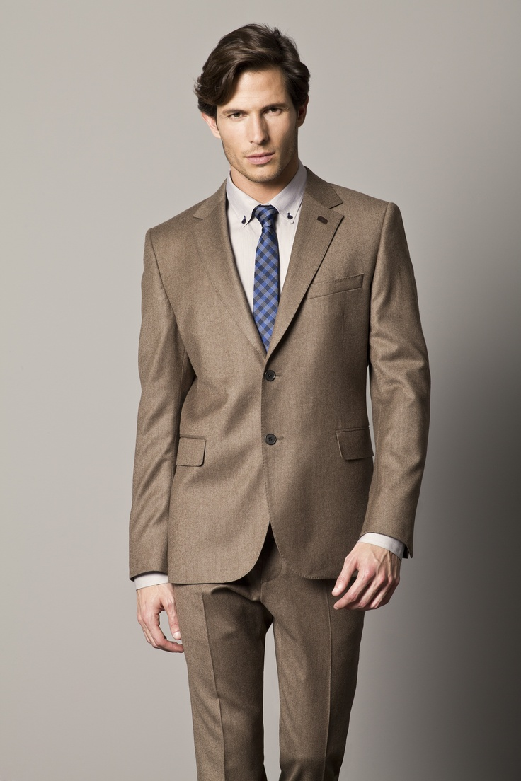 Man In A Brown Suit | My Dress Tip