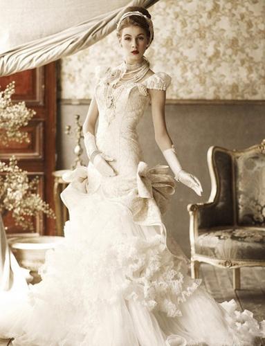 Elegant Wedding Dress 2013 (3)